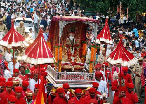 Procession of Teej