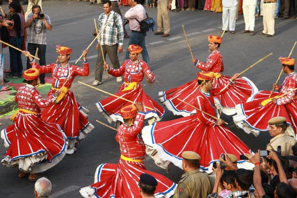 The festival of Gangaur