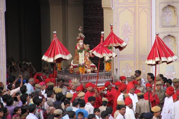 The Gangaur Procession