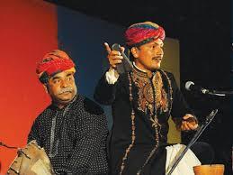 Nathoo Solanki and Chugge Khan performing at a previous edition of JLF