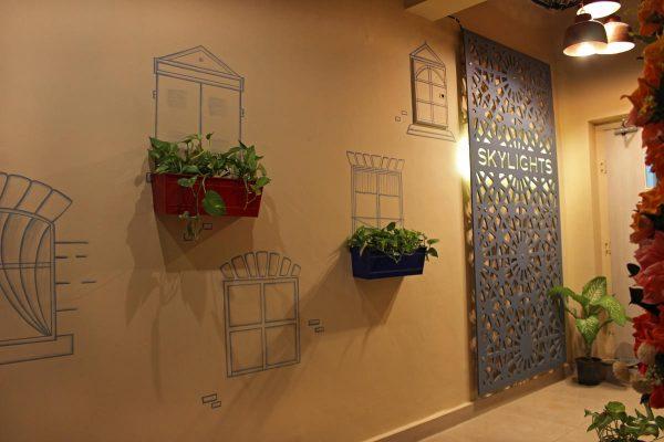 Skylights cafe in Jaipur