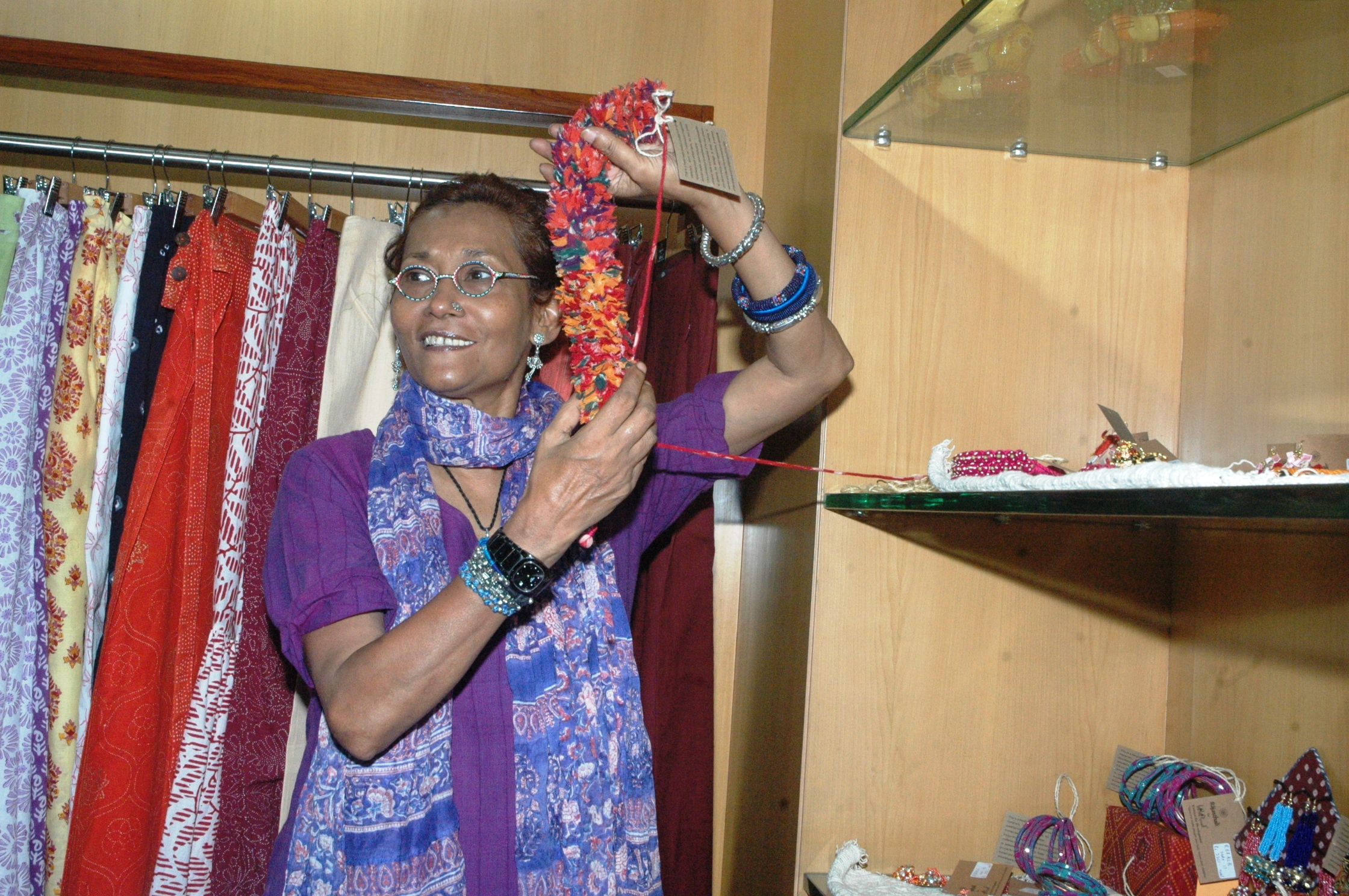 Bibi Russell designed products now available in Jaipur