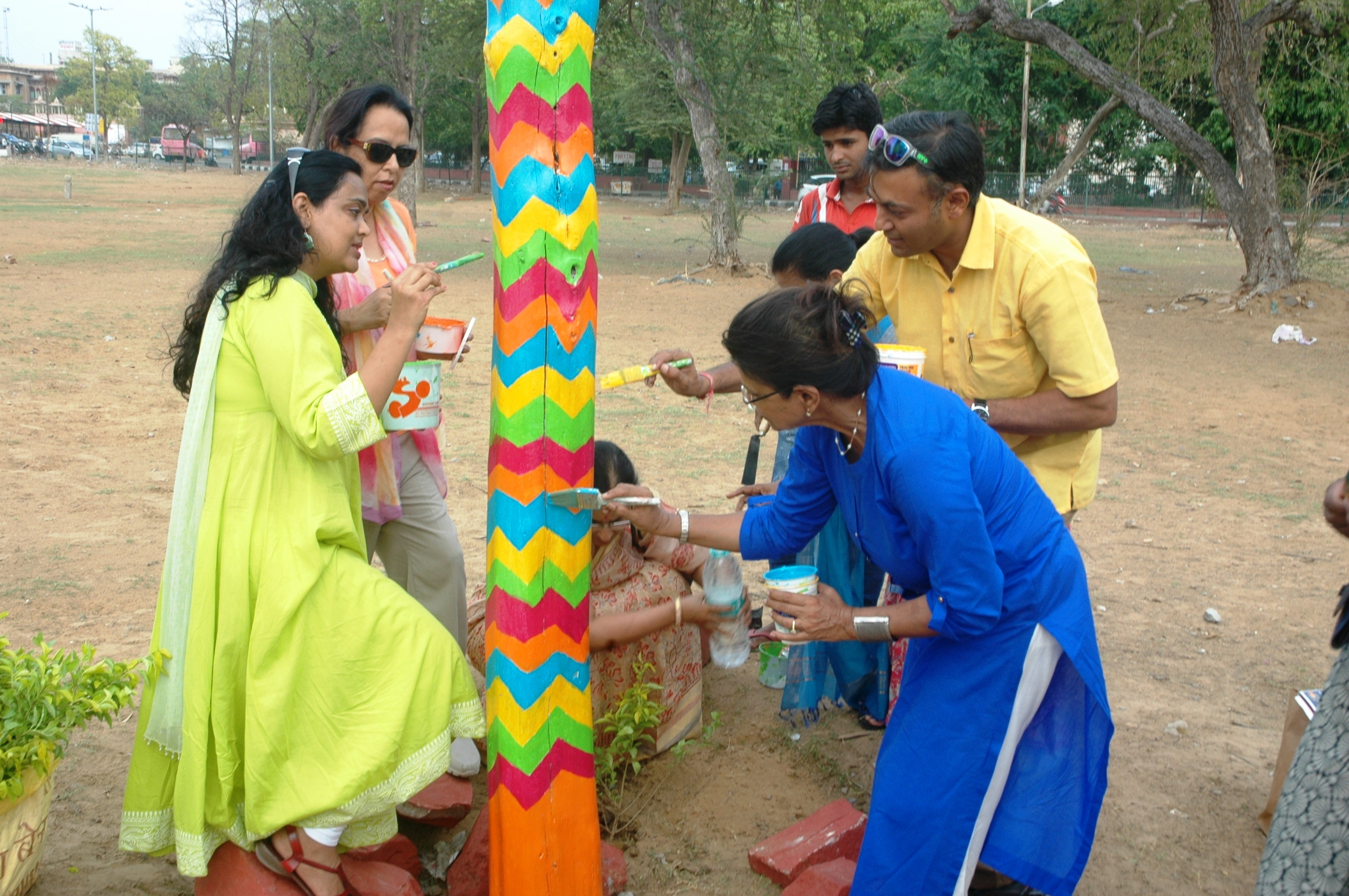 How Jaipurites spread awareness about tree plantation and community participation