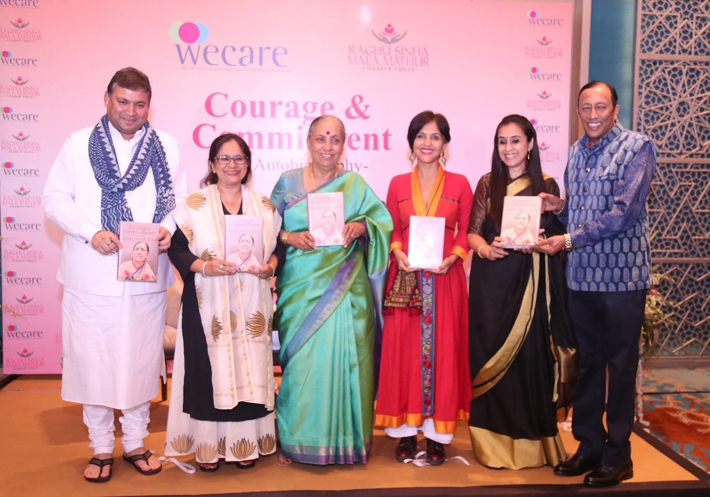 Margaret Alva releases her Autobiography in Jaipur