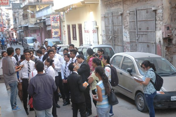 Enthusiastic participation was seen in the Heritage Walk