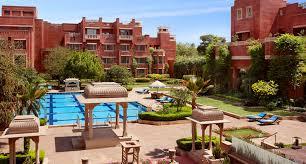 A view of the Hotel ITC Rajputana
