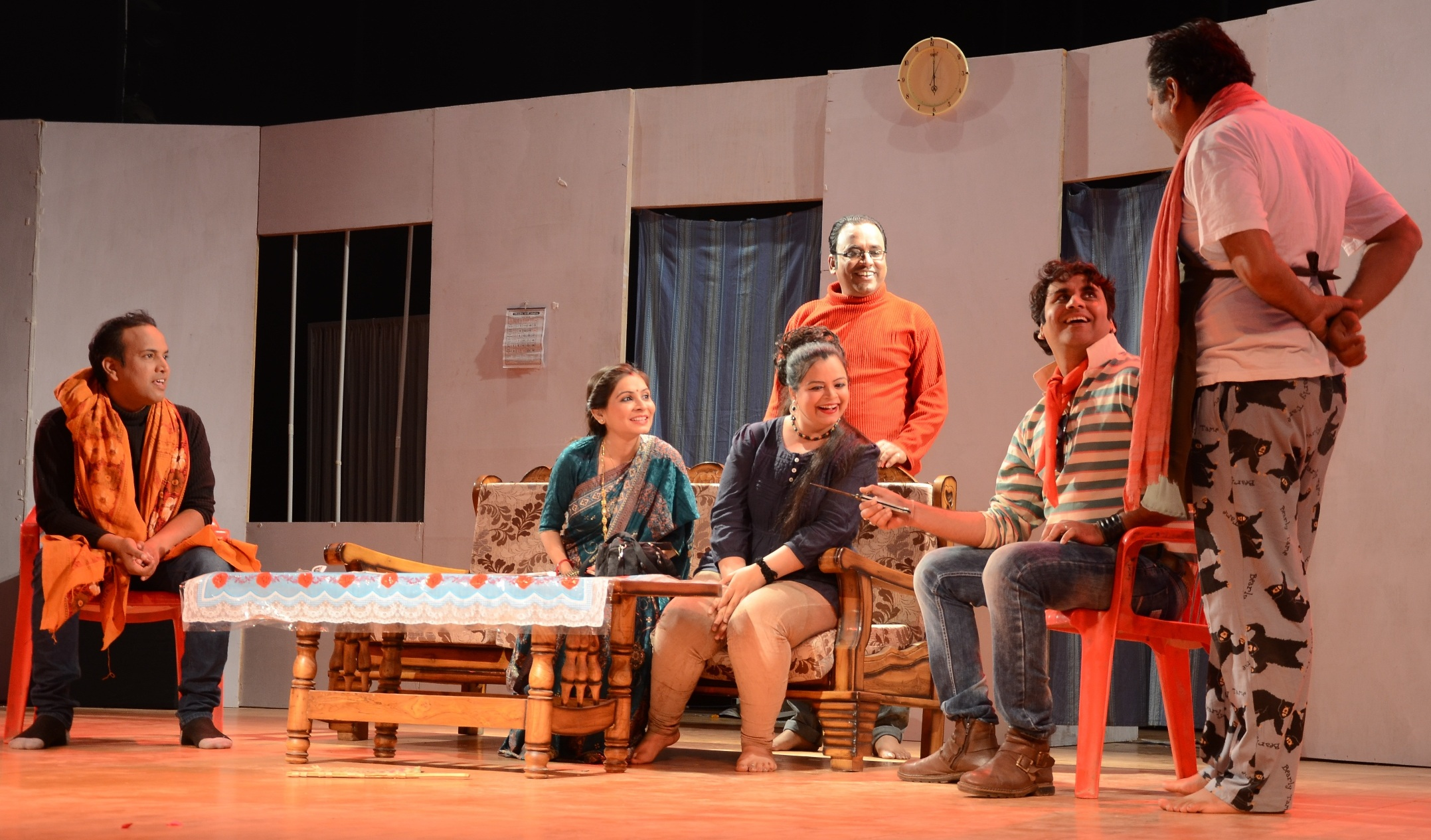 5 Days of Comedy Theatre at Jawahar Kala Kendra from 27 September