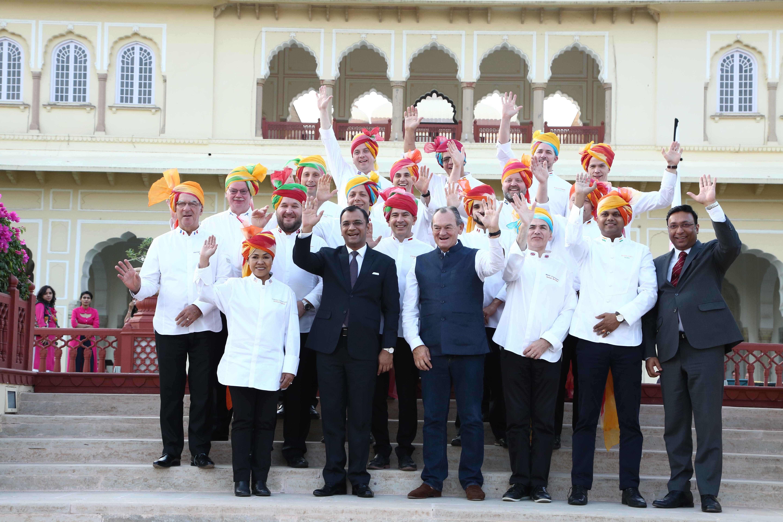 Club des Chefs des Chefs visit Pink City