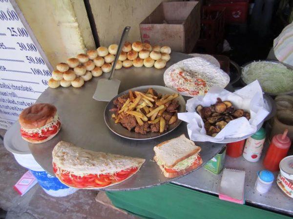 Falafel Wraps in Pushkar