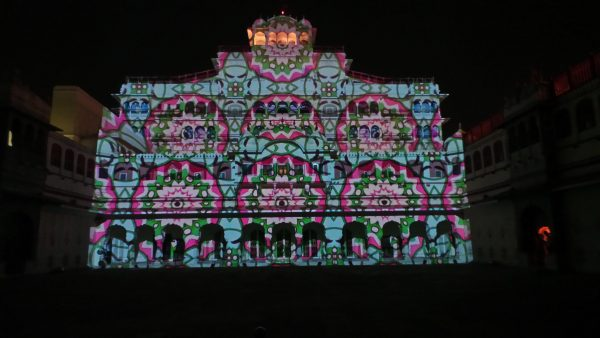 puzzle doorways city palace jaipur light and sound show