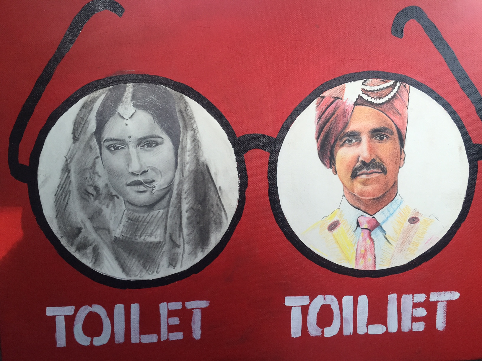 Jaipur art enthusiasts are transforming mobile toilets into pieces of art