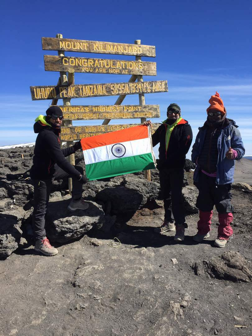Jaipur's Father and Son Duo Reach Mount Kilimanjaro
