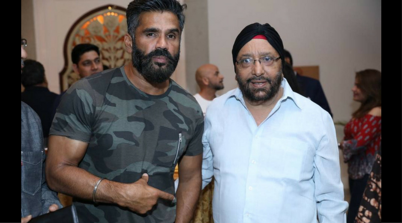 An Evening with Suniel Shetty in Jaipur