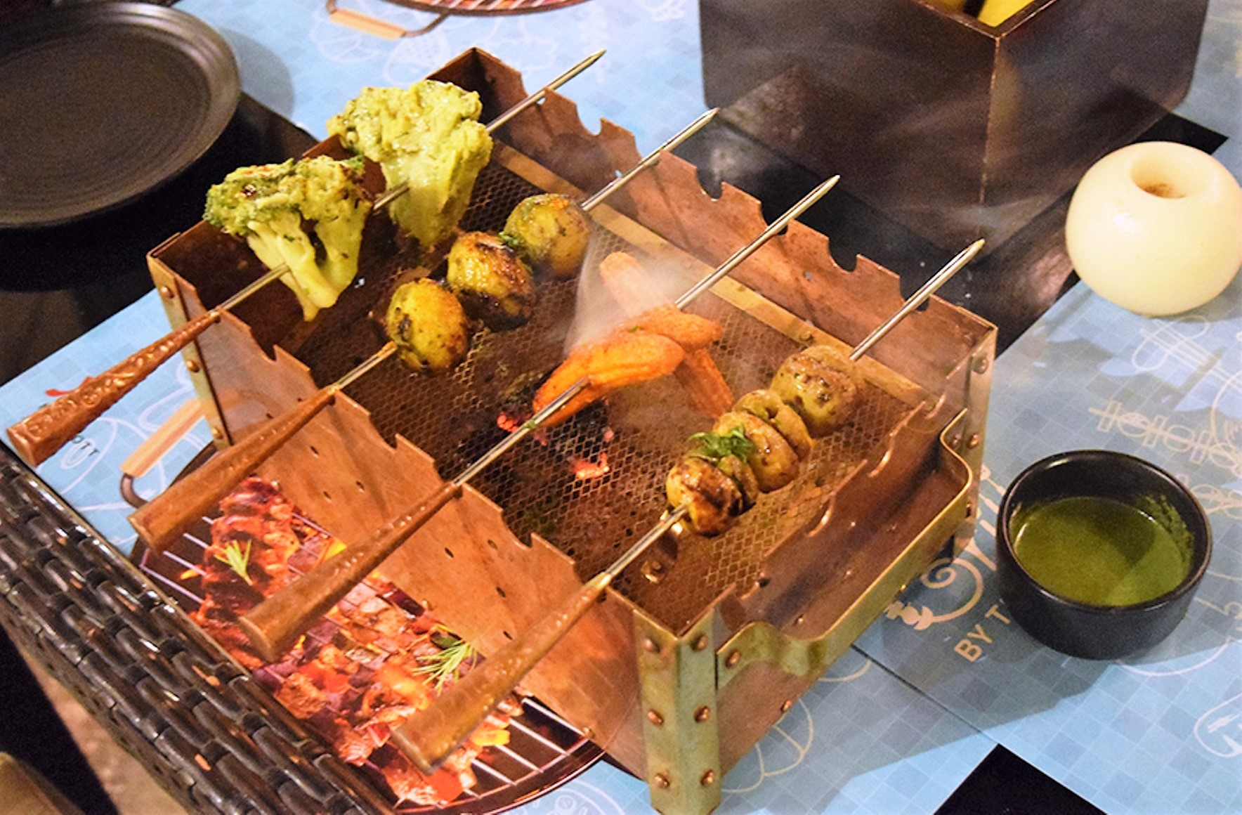 Enjoy the Finest Grills by the Poolside at Jaipur Marriott