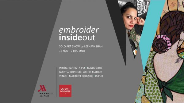 Art Exhibition Embroider Inside Out