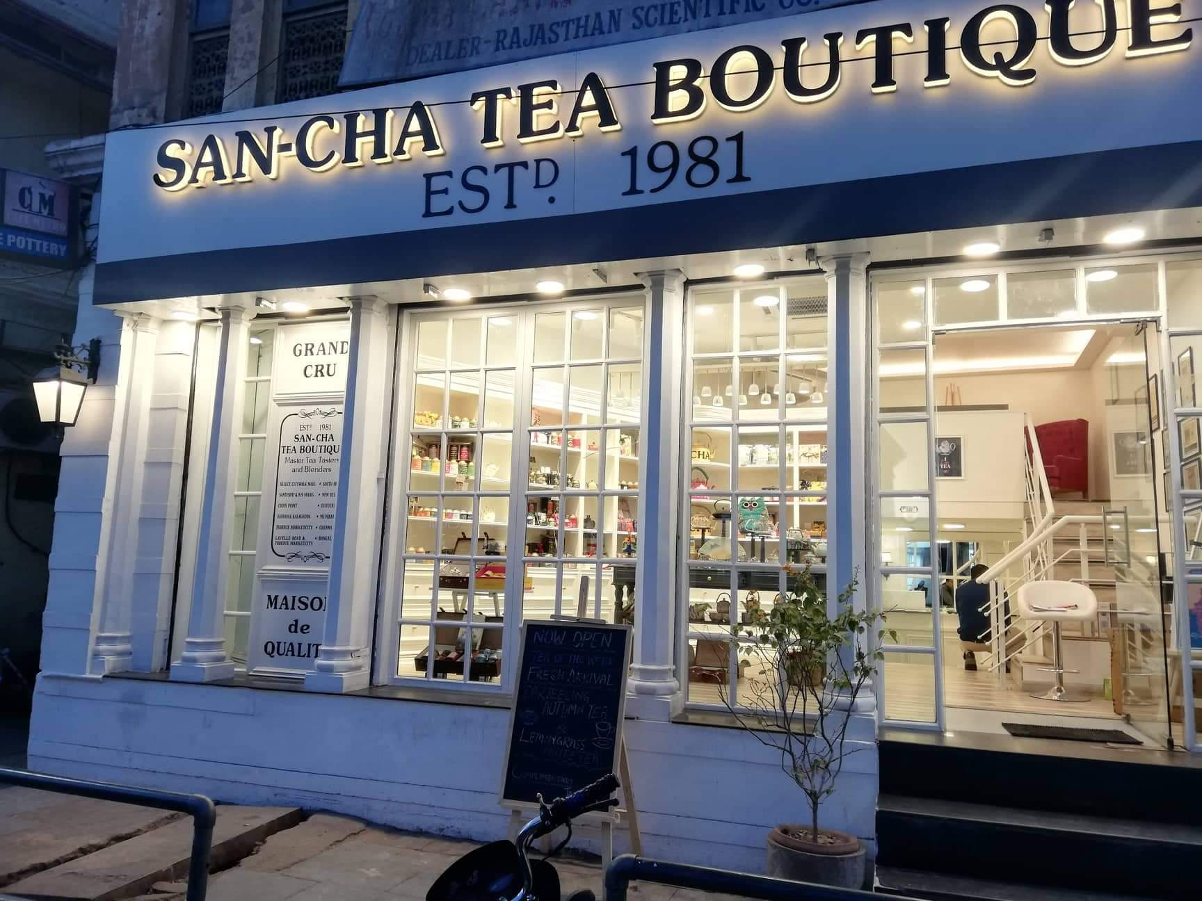 India's Most Loved Tea Store 'Sancha' is now in Jaipur