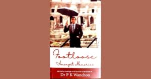 Book cover of Footloose Amongst Memories
