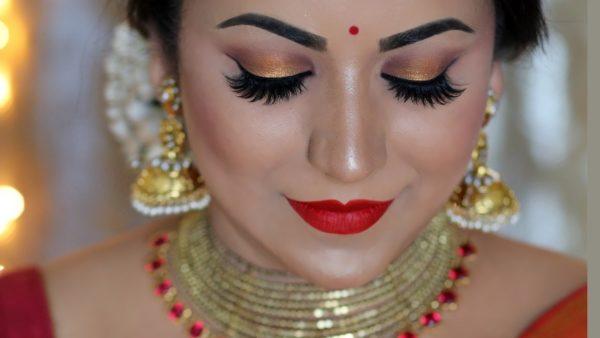Traditional Diwali Makeup look