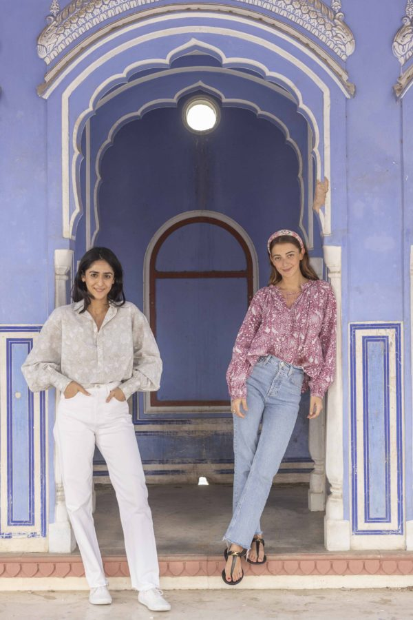 Princess Gauravi Kumari and designer, Claire Deroo_PDKF store
