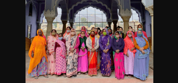 Women artisans of the Princess Diya Kumari Foundation_PDKF store