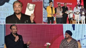 Actor Kabir Bedi was in Jaipur recently for the launch of his autobiography 'Stories I Must Tell: The Emotional Life of an Actor'. The book launch was preceded by an interesting conversation with the author at Fairmont Jaip